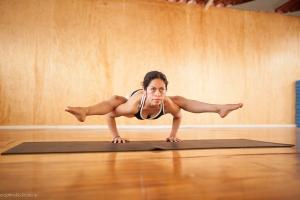 Gladis Soriano es la fundadora de Prana Yoga Oaxaca y es maestra de ashtanga vinyasa yoga.