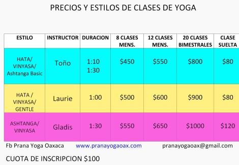 Microsoft Word - PRECIOS Y ESTILOS DE CLASES DE YOGA.docx